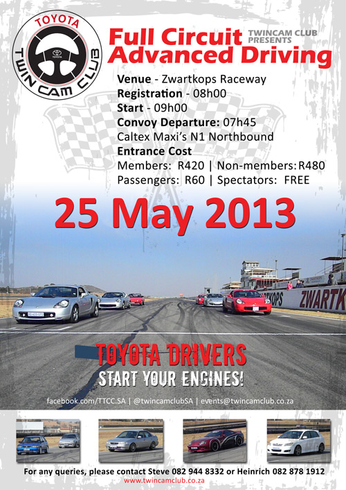 2013 Advanced Driving @ Zwartkops - 25/03/13