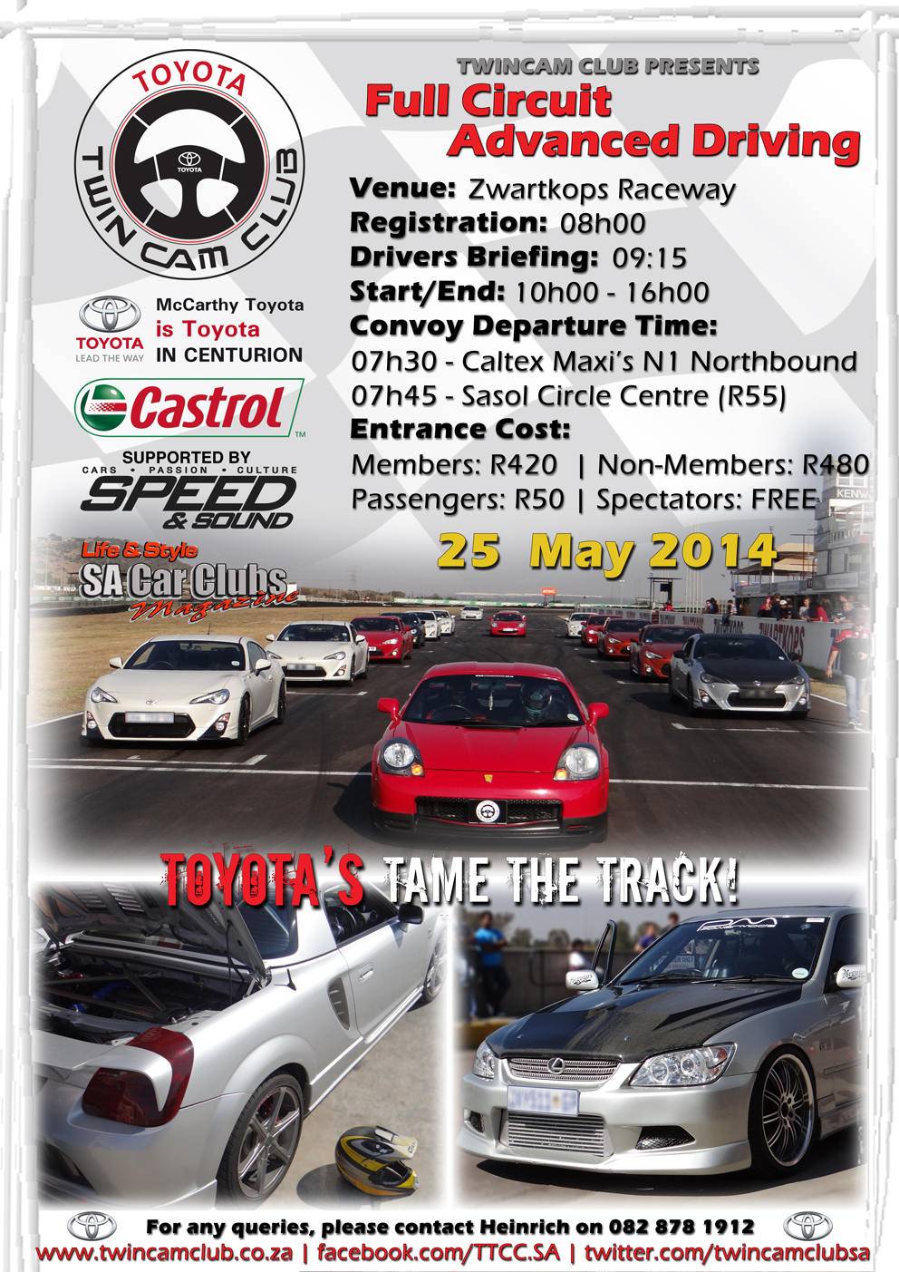 General News Archives Twincam Club Of South Africa Corolla Rxi 20v Modified Cars Pictures Next Event Full Circuit Advanced Driving 25 05